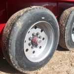 Hughes Trailers 16-ply tires
