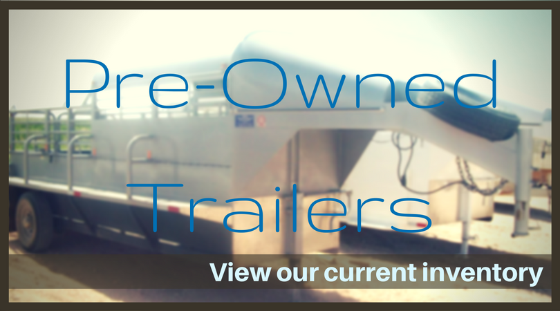 Custom-Built Steel Livestock Ranch Trailers